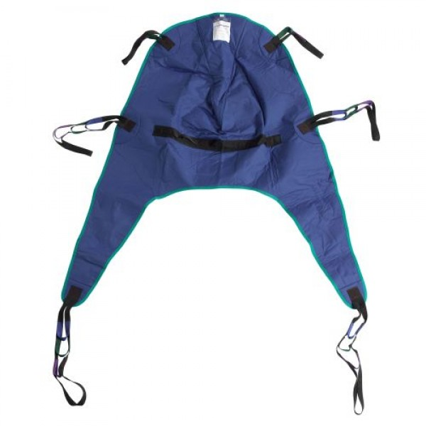 Drive Divided Leg Patient Lift Sling with Headrest