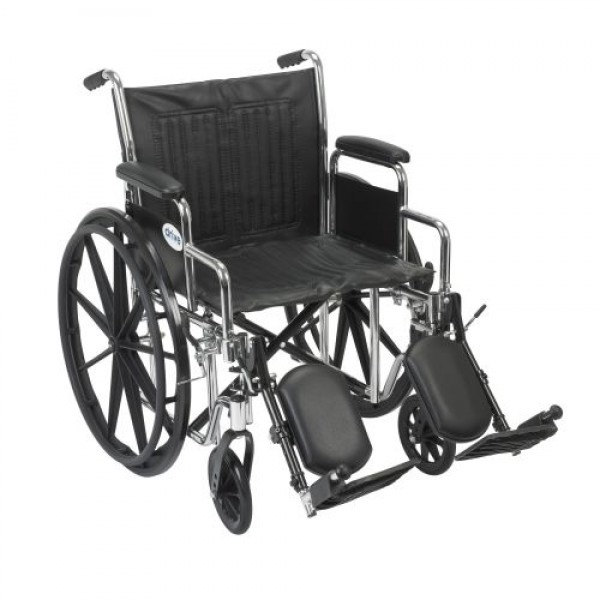 Drive Chrome Sport Wheelchair