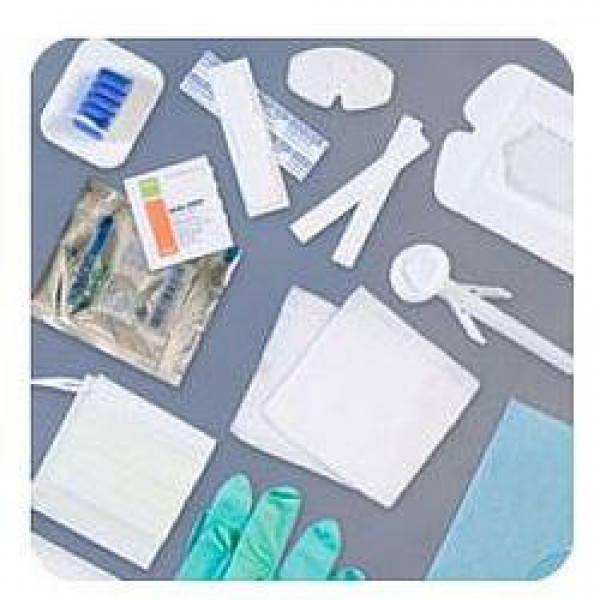 Centurion Dressing Change Tray with Saline Solution and Stretch Gauze
