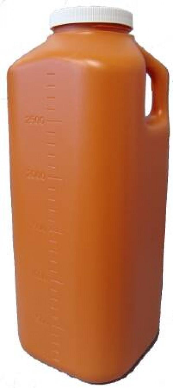 MedLine Urine Specimen Bottle 24 Hour Collection 3000 mL