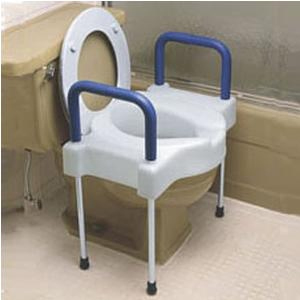 Maddak Extra Wide Tall-Ette Elevated Toilet Seat