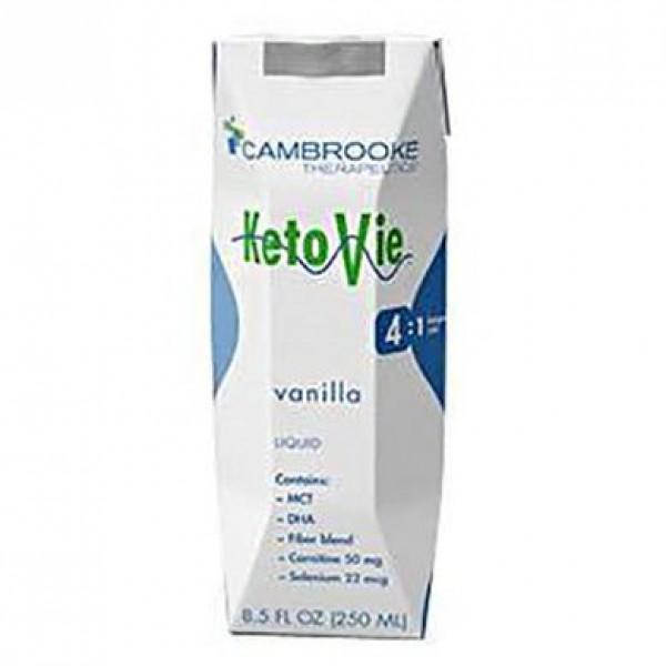 Cambrooke Foods KetoVie Peptide Ketogenic Formula