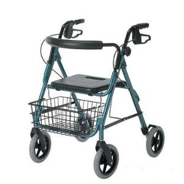 MedLine Guardian Deluxe Rollators with 8 Inch Wheels