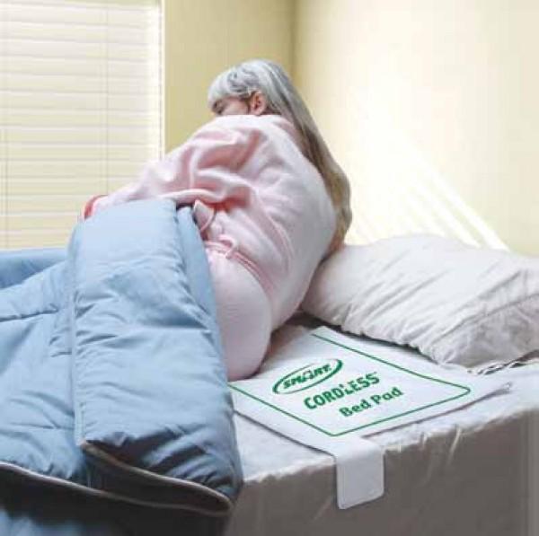 Smart Caregiver FallGuard Wireless Alarm with Bed Pad Sensor
