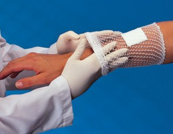 Derma Sciences Surgilast Tubular Elastic Stretch Net Dressing Retainer