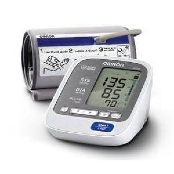 Omron Deluxe Blood Pressure Monitor With Comfit Cuff
