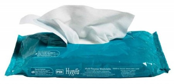 Nice Pak Products Inc Washcloth Hygea Solo 8 X 12 Inch
