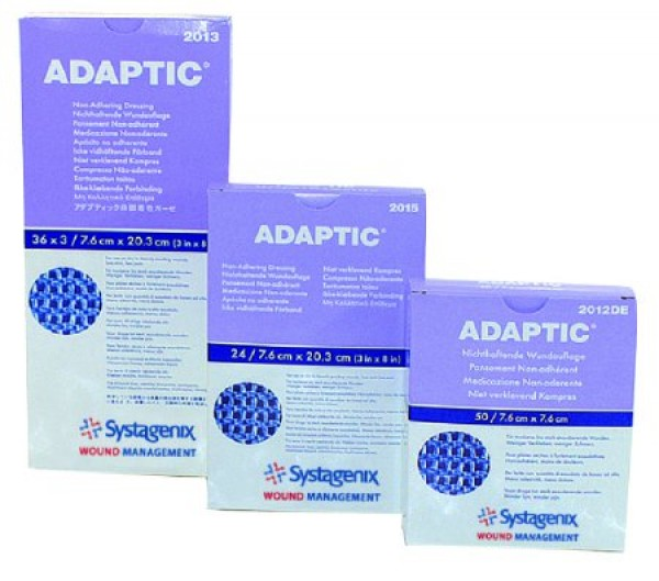 ADAPTIC Touch Non-Adhering Dressing 3 x 3 Inch
