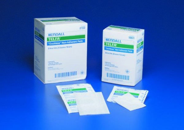 Telfa Ouchless Non Adherent Dressing 3 X 4 Sterile 1 S In Peel Back Package