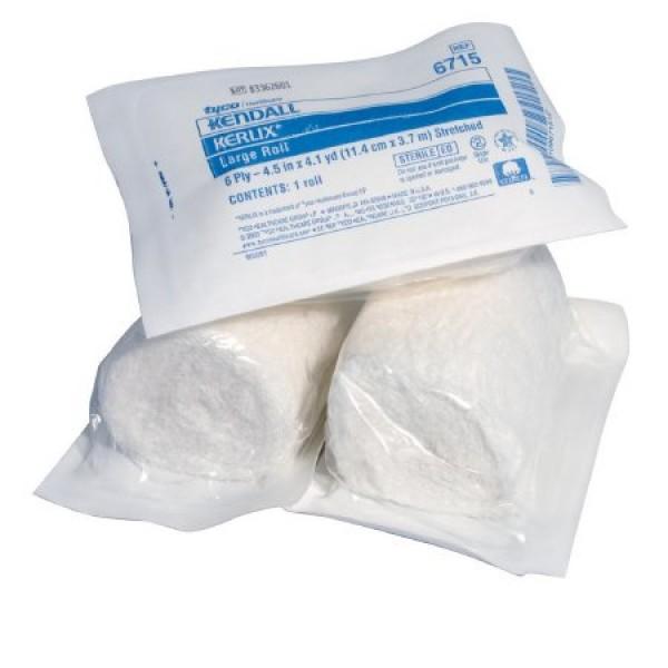 Kendall Kerlix Sterile Gauze Rolls Sterile Single Roll 4.5 X 3.1