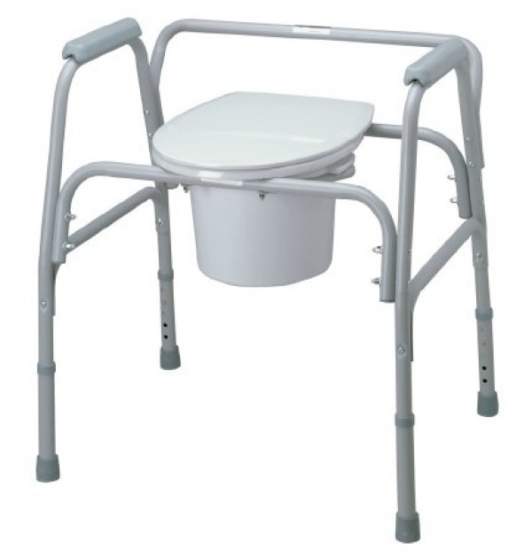 MedLine Medline Steel Bariatric Commode
