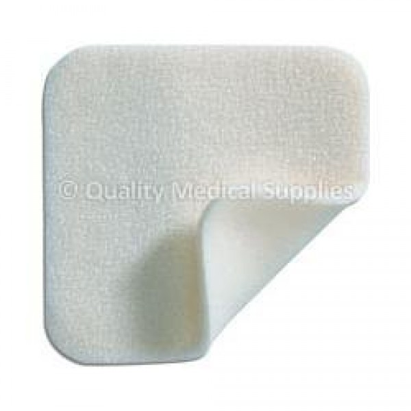 Mepilex Border Foam Dressing 4 x 4 Inch Square