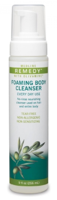 MedLine Medline Remedy Olivamine Foaming Body Cleanser 4-in-1