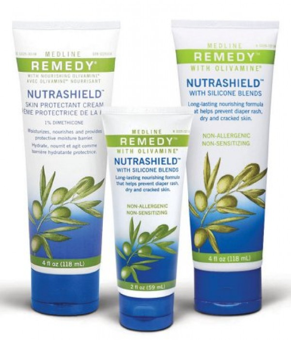 MedLine Medline Remedy Nutrashield with Silicone Blends Skin Protectant