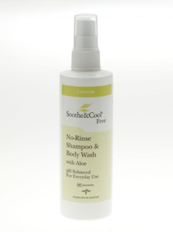 MedLine Soothe & Cool Fresh No-Rinse Shampoo & Body Wash