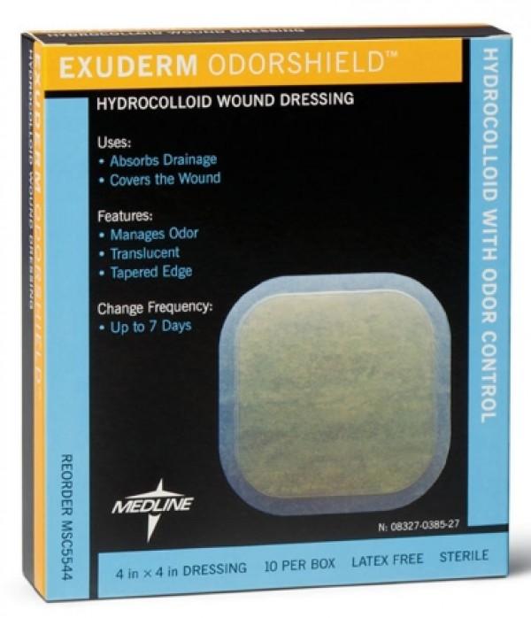 MedLine Exuderm Odorshield Hydrocolloid Dressing