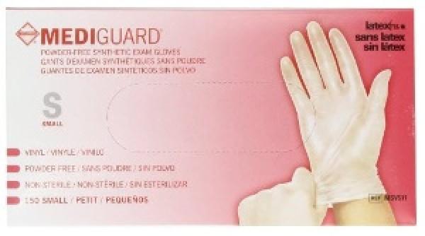 MedLine Mediguard Vinyl Exam Gloves Powder Free - NonSterile