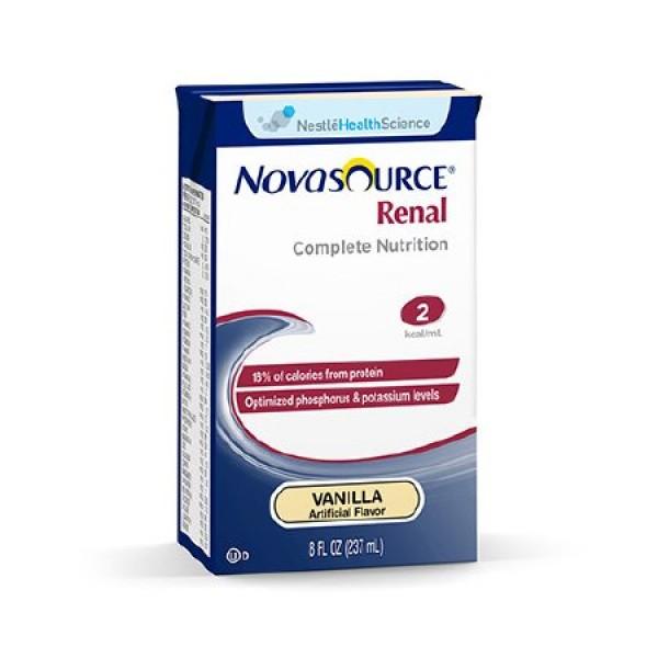 Novasource Renal Nutritional Vanilla Flavor Liquid Briks Pak