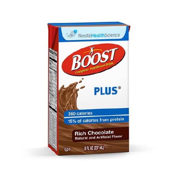 Boost Plus 360 Carton Rich Chocolate 27 Count