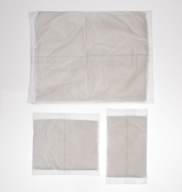 Medline Abdominal Pads NON21457,  Latex Free, 12 x 16 in