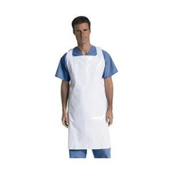 MedLine Protective Polyethylene Disposable Aprons