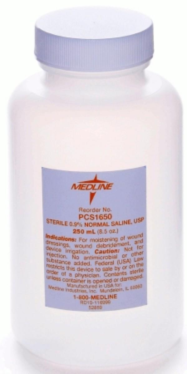 MedLine Sterile Saline Solution