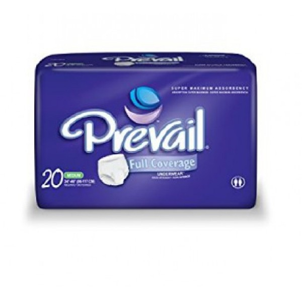 First Quality Prevail Full Coverage Protective Underwear