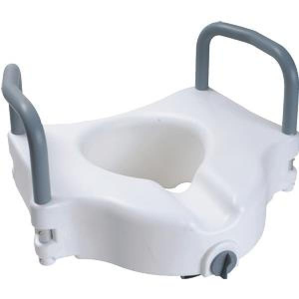 CardinalHealth Raised Toilet Seat by Cardinal Health