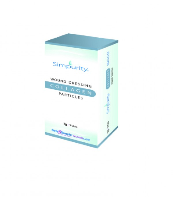 Safe N Simple Simpurity Wound Dressing Collagen Particles
