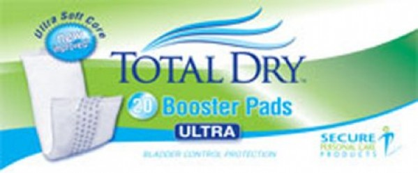 Secure Personal Care TotalDry Ultra Booster Pads