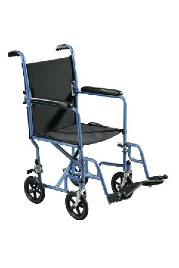 Drive Medical Economy Steel Transport Chair by Drive