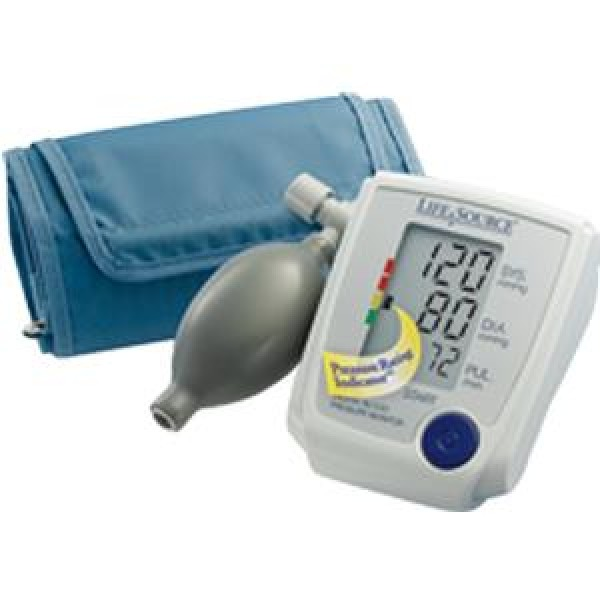 A&D Medical LifeSource Advanced Manual Inflate Blood Pressure Monitor