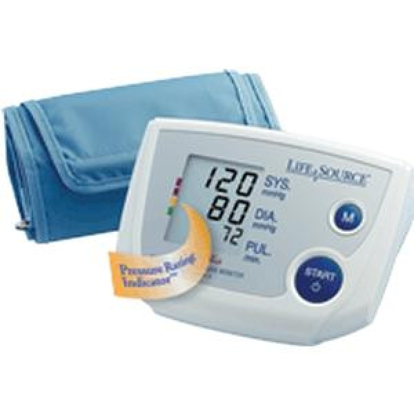 A&D Medical LifeSource Automatic Blood Pressure Monitor with Enhanced Memory