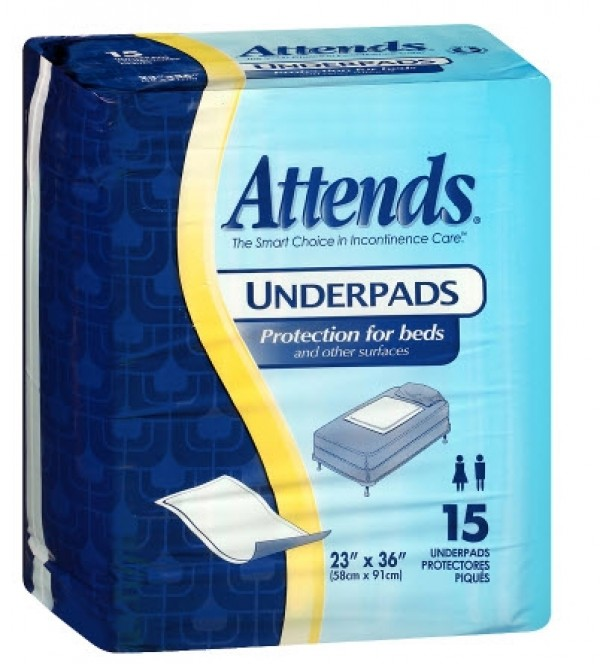 Attends Healthcare Products Attends Retail Underpads Light Absorbency
