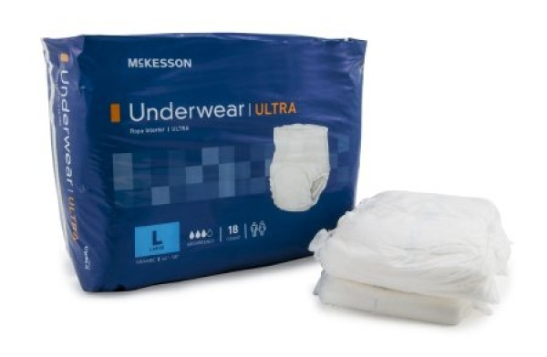 McKesson Mckesson StayDry Underwear Ultra Absorbency
