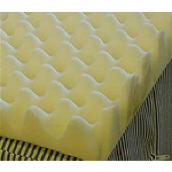 Val Med 2 Inch Egg Crate Foam Topper