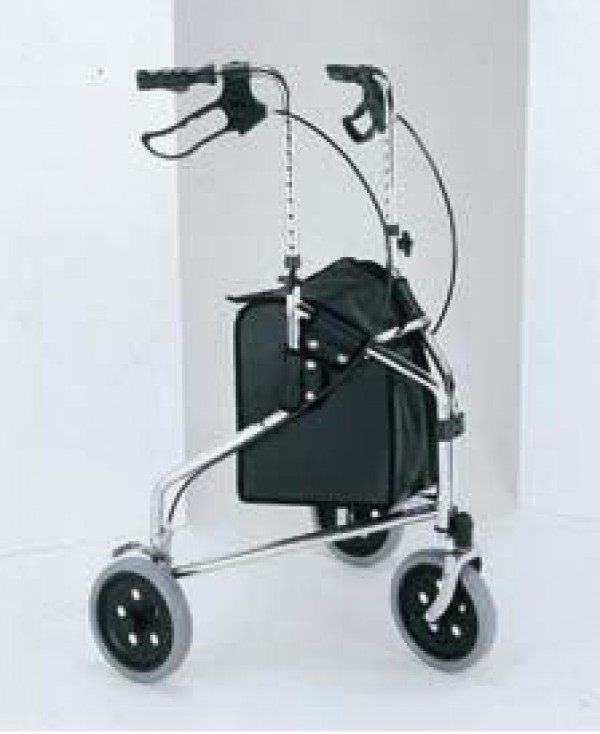 Merits 3 Wheel Aluminum Rollator