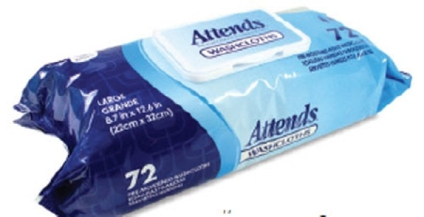 Attends Healthcare Products Attends Washcloths - Scented