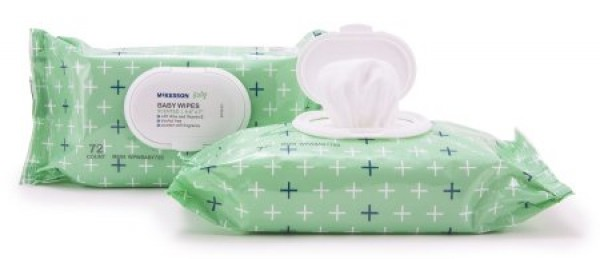 Baby Wipes Scented with Aloe and Vitamin E by McKesson
