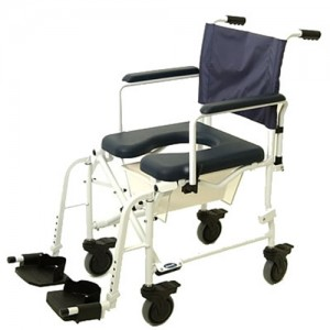Rolling Commodes - Commodes and Accessories - Bath Safety