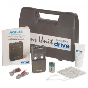 Drive AGF-3E Economy Dual Channel TENS Unit