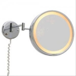 Jerdon HL7CF Chrome 3x Magnifying Mirror