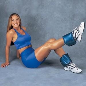 AquaBells Adjustable Ankle Weights