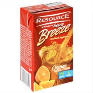 Resource Breeze Fruit Beverage (Case of 27)