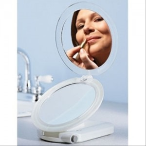 Ultimate Makeup Mirror 10X/1X Lighted