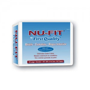First Quality Nu-Fit Adult Briefs