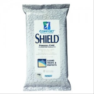 Comfort Shield Perineal Care Wipes