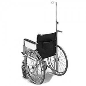 Invacare Supply Group Wheelchair IV Pole