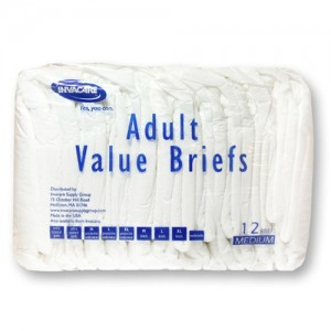Invacare  Economy Series Adult Briefs