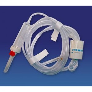 Invacare  IV Administration Set with Rate Flow Regulator